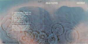 Pink Floyd - Meddle CD 1990 CAPITOL CDP 7460342 ORIGINAL EARLY PRESS
