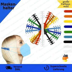 5x Maskenhalter Ohrenschoner Behelfsmaskenhalter Maskenhaken Verlängerungshaken