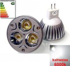GU5.3 LAMPE MR16 LED 3w 12v SMD 3x1W LAMPE LED kaltweiss  12v Strahler SPOT