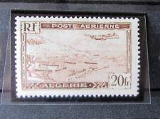 TIMBRE Colonies Françaises , Algérie PA n°4 TYPE II , NEUFS* LUXE signé .