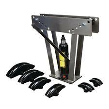 Hydraulic Pipe Bender 12 Ton Manual Tubing Heavy Duty Exhaust Tube Bending