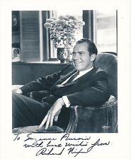 Richard Nixon - Signed Photograph