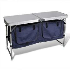 Outdoor Foldable Camping Picnic Travel Storage Cupboard Table Bench Waterproof