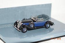 Horch 853 a Sport Cabrio 1938 NERO-BLU 1:43 Minichamps Nuovo & Ovp 436012036