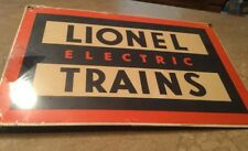 Lionel Train Sign Vintage Please See Pictures