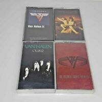 Van Halen 4 Cassette Lot OU812 II Balance For Unlawful Carnal Knowledge Eddie
