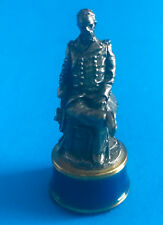 Franklin Mint Civil War Chess Blue Bishop William Sherman 8798694