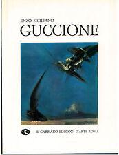 SICILIANO GIULIO GUCCIONE  IL GABBIANO 1971 I° EDIZ. ARTE PITTURA