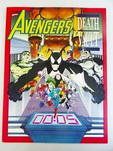 Marvel AVENGERS: DEATHTRAP - VAULT (1991) #1 GRAPHIC Novel VENOM VF/NM