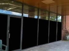 "Black Out Film Privacy For Office,Bath,Glass Door,Storefronts 30"" X 90 Ft Roll"
