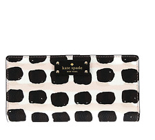 Kate Spade Laurel Way Grove Street Stacy Saffiano Leather Woman's Wallet Purse