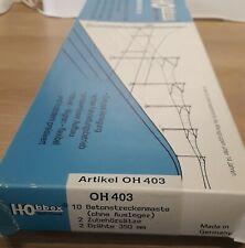 More details for hobbex  403 ho  catenary.   obb solid concrete mast type. (read description)