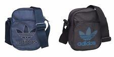 Adidas Originales Trébol Mini Equipo Bolsa/Mensajero/Vuelo. Negro O Azul