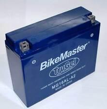 New Bike Master TruGel Battery MG16AL-A2 Tru Gel 2Yr Wrnty YB16AL-A2 78-0518