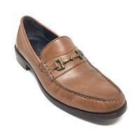 Men's Cole Haan Pinch Sanford Horsebit Loafers Shoe Size 9.5 M Brown Leather AF5