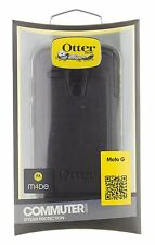 NEW Otterbox Commuter Motorola MOTO G Tough Two-Layer Black Case Cover 77-33032