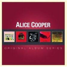 Original Album Series by Alice Cooper (CD, Sep-2012, 5 Discs, Warner Bros.)