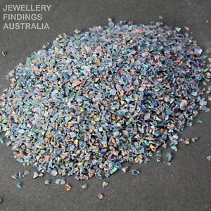Rainbow Fire Crushed Opal Chips For Jewellery Inlays | Ring Making | Resin Art
