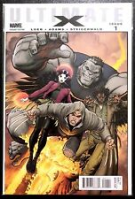 Ultimate X #1 (2010) Adams Variant 1st Appearance Jimmy Hudson Marvel Comics