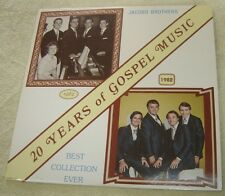 The Jacobs Brothers 20 Years Of Gospel Music 2 LP Set Best Collection Ever