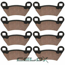 Front Rear Brake Pads For Polaris Ranger 500 4X4 2002 2003 2004 2005 2006 2007