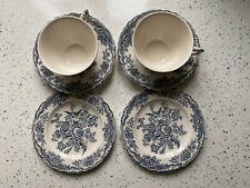 Crown Ducal English Ironstone Blue- Excellent Condition