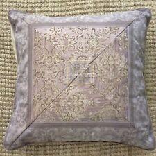 Croscill European Pillow Sham Lavender Brocade Decorative 26 x 26