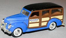 ERTL 1/43 1940 Ford Woody Station Wagon Wilson's Country Inn
