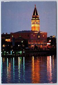 Italy World Showcase at EPCOT CENTER Walt Disney World Continental Postcard