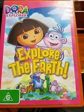 Dora The Explorer - Explore The Earth DVD MOVIE - FREE POST