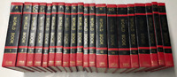 The World Book Encyclopedia 1968 A-Z Complete Set With Red Covers