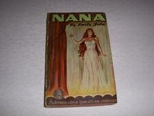 Vintage NANA by EMILE ZOLA, POCKETBOOK EDITION #104, 10TH PRINT, 1942, PB!