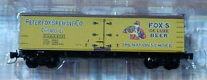 Micro-Trains Line Z #51800290 Fox Brewing 40' Wood Reefer (Rd #4751)