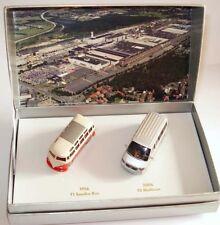 "VW T1 SAMBA T5 MULTIVAN BUS ""50 YEARS WORK HANNOVER"" 1:87 WIKING (DEALER MODEL)"