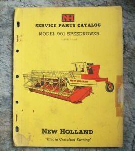New Holland Service Parts Catalog 901 Speedrower--->