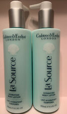 Crabtree & Evelyn La Source Hydrating Body Lotion 8.5 fl oz NEW Lot x 2 SET