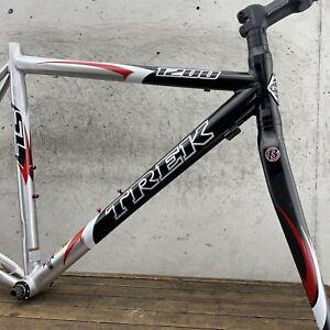 Trek 1200 Frame Set 54cm 55cm Road Bike Carbon Fiber Fork Alpha SL Super Light