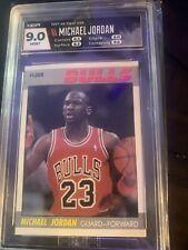 1987 Fleer Basketball Michael Jordan #59 HGA 9 MINT