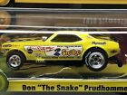 NEW BLISTER SNAKE FUNNYCAR 1970 YELLOW PLYMOUTH CUDA DON PRUDHOMME HO SLOT CAR
