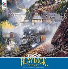 CEACO BLAYLOCK FINE ART PUZZLE SILVER BELL RUN 750 PCS #2921-1