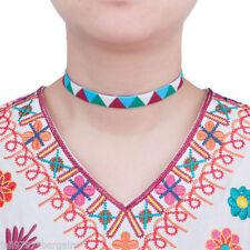 Collares y colgantes de bisutería gargantillas color principal multicolor
