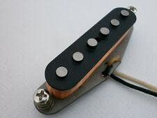 Stratocaster  HOT ALNICO 2  Bridge Neck Guitar Pickup Hand Wound  by Q pickups