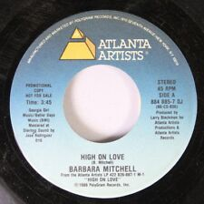 Soul 45 Barbara Mitchell - High On Love / High On Love On Atlanta Artists