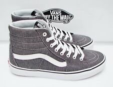 6c0613dfa1 VANS SK8-HI (MICRO HERRINGBONE) BLACK TRUE WHITE VN-0A38GEQTW MEN S
