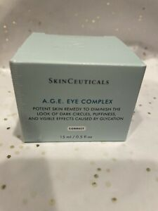 SKINCEUTICALS AGE A.G.E. EYE COMPLEX SIZE .5 OZ SEALED BOX FRESH AUTHENTIC