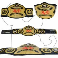 WWE Tag Team World Wrestling Title Entertainment Championship Replica Belt 4mm
