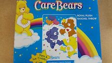 BRAND NEW CARE BEARS THROW SIZE ACRYLIC 40X50 BLANKET