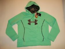 Under Armour ColdGear Women's Storm 1 Caliber Hoodie Camo Sweet Green # XXL 2xl