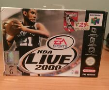 NBA Live 2000 EA Sports N64 SUPER NINTENDO Pal GAME BOXED collectable