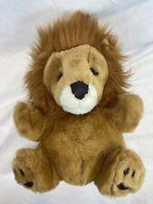 Playful Pals Lion Hand Puppet Plush Mervyns Vintage